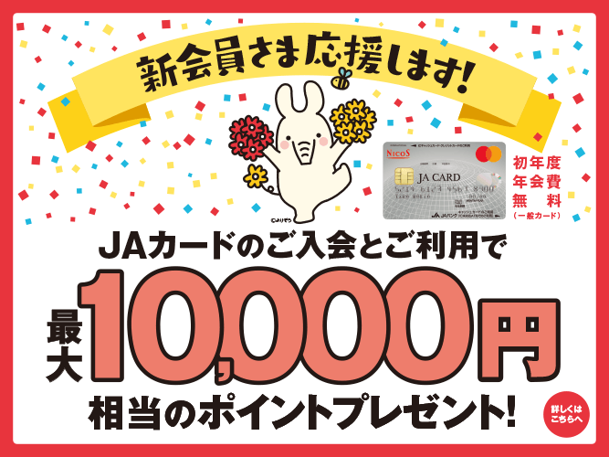 JAカード10000
